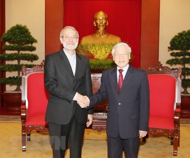 Vietnam aspira reforzar lazos tradicionales con Iran, afirma maximo dirigente partidista hinh anh 1