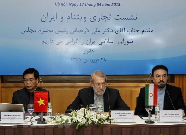 Foro empresarial Vietnam-Iran analiza posibilidades de cooperacion hinh anh 1