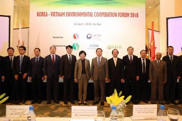 Vietnam y Sudcorea fortalecen cooperacion en materia ambiental hinh anh 1