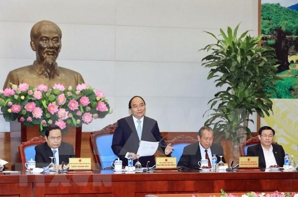 Premier vietnamita exhorta a fortalecer unidad nacional hinh anh 1