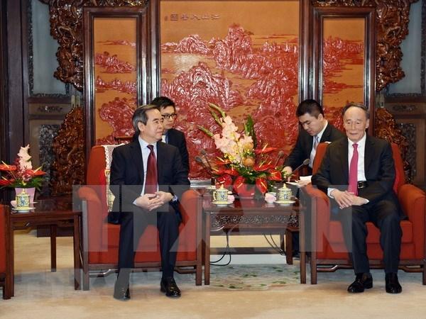 Vietnam y China trabajaran para fomentar lazos bilaterales hinh anh 1