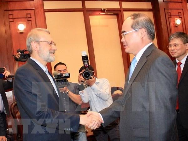 Ciudad Ho Chi Minh dispuesta a promover cooperacion con Iran hinh anh 1