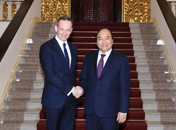 Premier de Vietnam apuesta por impulsar cooperacion interlocal con Alemania hinh anh 1