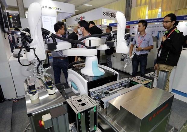 Inauguran en Vietnam exposicion internacional de industria minera hinh anh 1