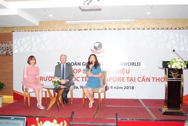 Grupo singapurense Kinderworld construye escuela en provincia vietnamita hinh anh 1