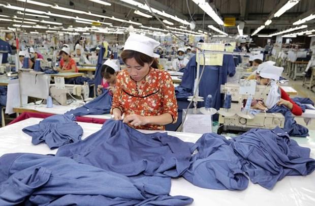 Exportacion vietnamita de confecciones alcanzara 34 mil millones de dolares, pronostica VITAS hinh anh 1
