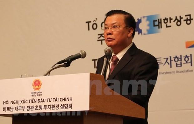 Celebran en Seul conferencia para promover inversiones en Vietnam hinh anh 1