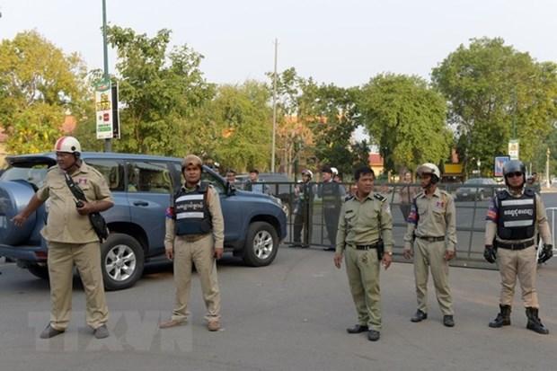 Camboya desplegara 80 mil efectivos de seguridad durante elecciones generales hinh anh 1