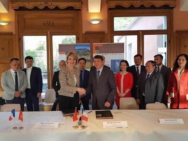 Vietnam y Francia cooperaran en conservacion de geoparques hinh anh 1