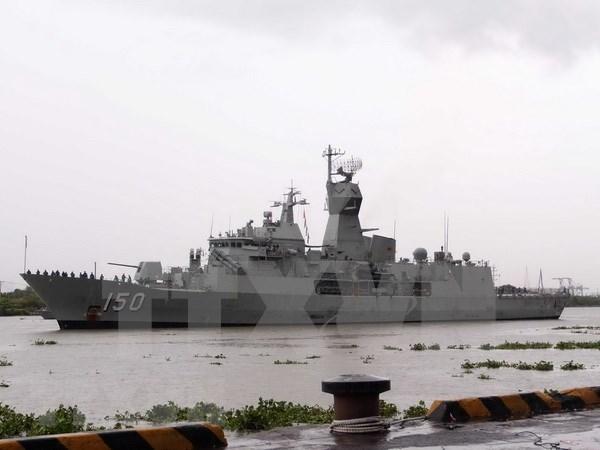 Buques de la Armada australiana visitan Ciudad Ho Chi Minh hinh anh 1