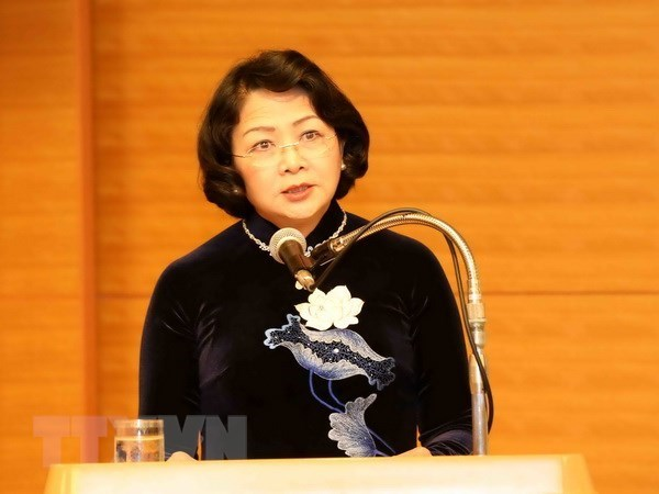 Vicepresidenta vietnamita asistira a Cumbre Global de Mujeres hinh anh 1