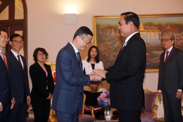 Comercio de Vietnam se beneficiara de proyecto de cooperacion entre Tailandia y grupo chino Allibaba hinh anh 1