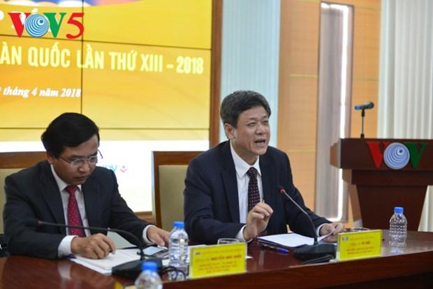 Efectuaran tercer Festival Nacional de Radiodifusion de Vietnam hinh anh 1