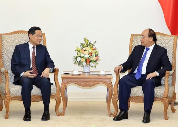 Premier de Vietnam califica de importante el fortalecimiento de cooperacion con Guangxi de China hinh anh 1