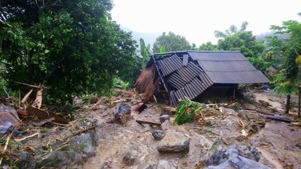 Construyen casas resistentes a desastres para pobres en zonas vulnerables hinh anh 1