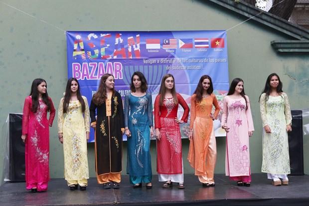 Participa Vietnam en Feria de Bazar de ASEAN en Argentina hinh anh 2