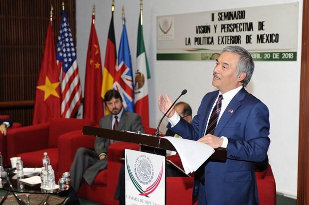 Efectuan seminario sobre ASEAN en Mexico hinh anh 1