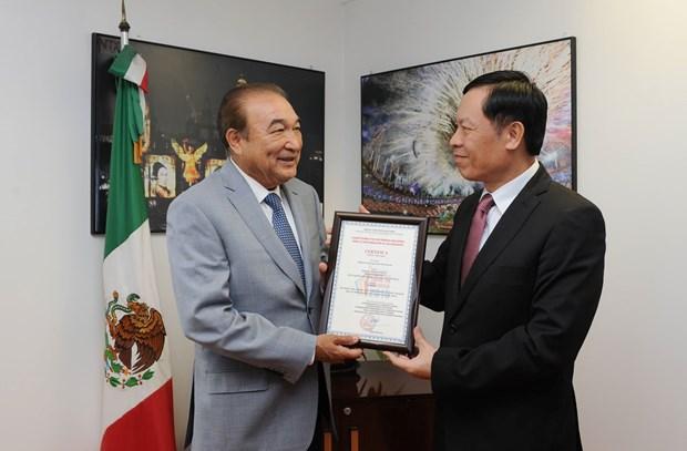 Vietnam y Mexico intercambian experiencias en materia de informacion al exterior hinh anh 2