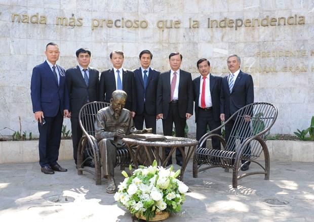 Vietnam y Mexico intercambian experiencias en materia de informacion al exterior hinh anh 3