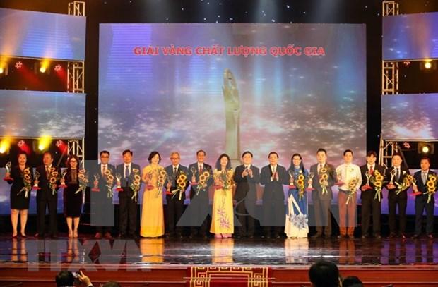Entregan a 73 empresas Premio de Calidad Nacional de Vietnam hinh anh 1