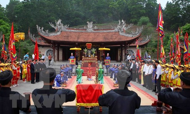 Inician en Vietnam actividades en homenaje a fundadores de la nacion hinh anh 1