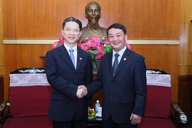 Comision de Shanghai de la Conferencia Consultiva Politica fortalece cooperacion con Vietnam hinh anh 1