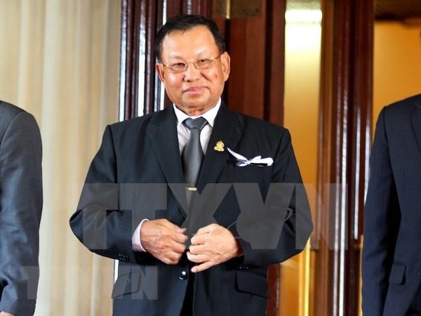 Samdech Say Chhum reelecto como presidente del Senado de Camboya hinh anh 1