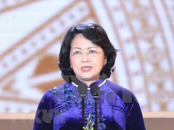 Vicepresidenta de Vietnam aboga por impulso de cooperacion educativa con Australia hinh anh 1