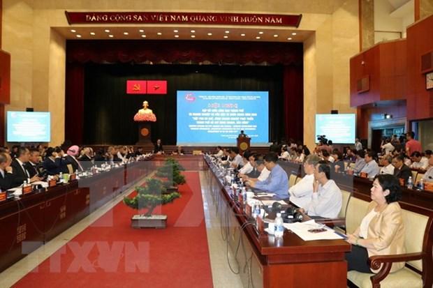 Ciudad Ho Chi Minh llama a inversion extranjera en desarrollo sostenible hinh anh 1