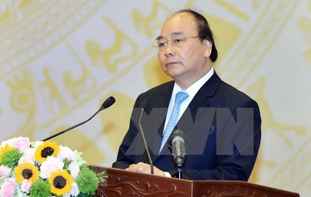 Premier de Vietnam insta a impulsar exportaciones para garantizar desarrollo sostenible hinh anh 1