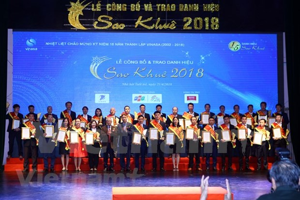 Premian productos y servicios ciberneticos de Vietnam en 2018 hinh anh 1