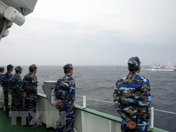 Vietnam y Tailandia realizan patrullaje maritimo conjunto hinh anh 1