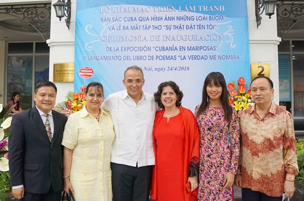 Presentan en Hanoi pinturas y libro de Heroe Cubano Antonio Guerrero hinh anh 3