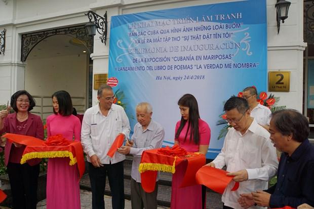 Presentan en Hanoi pinturas y libro de Heroe Cubano Antonio Guerrero hinh anh 2