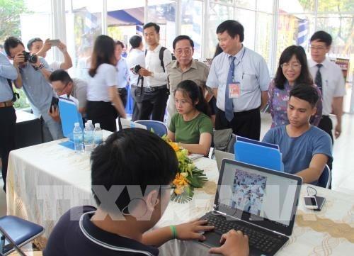 Inauguran centro de prensa internacional para el Festival Hue hinh anh 1