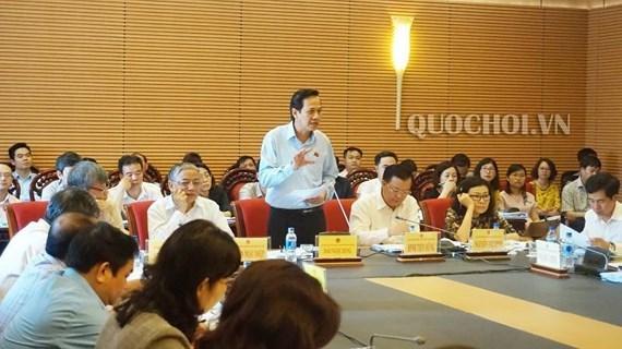 Efectuan octava reunion de la Comision de Asuntos Sociales del Parlamento de Vietnam hinh anh 1