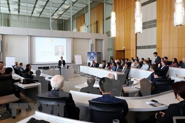 Vietnam adquiere experiencias de Alemania en la industria 4.0 hinh anh 1
