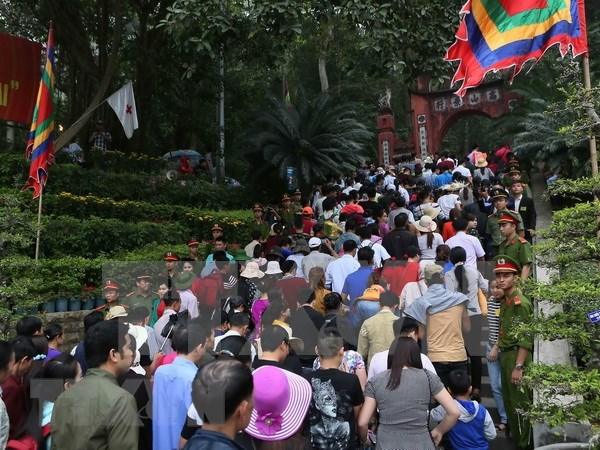 Provincia vietnamita de Phu Tho recibe a mas de 2,5 millones de visitantes hinh anh 2