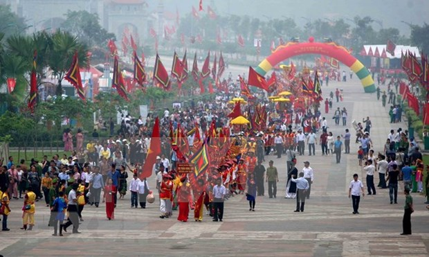Provincia vietnamita de Phu Tho recibe a mas de 2,5 millones de visitantes hinh anh 1