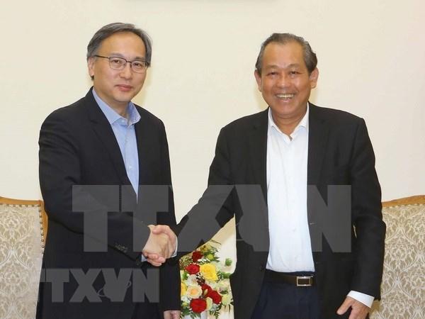 Vietnam y Singapur fortalecen cooperacion interministerial hinh anh 1
