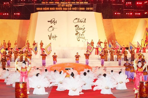Gran ceremonia marca los 1050 anos del primer estado feudal de Vietnam hinh anh 1