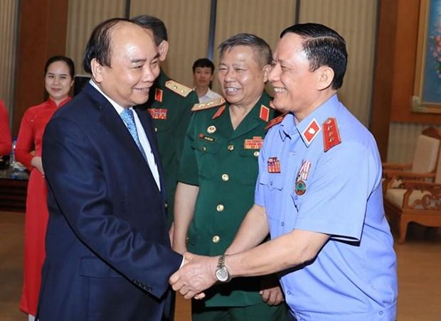 Premier de Vietnam resalta aportes de veteranos de guerra hinh anh 1