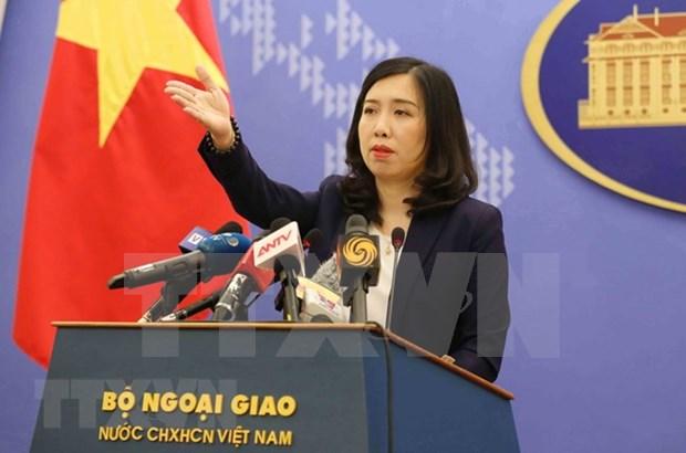 Vietnam condena actividades ilegales de China en Hoang Sa y Truong Sa hinh anh 1