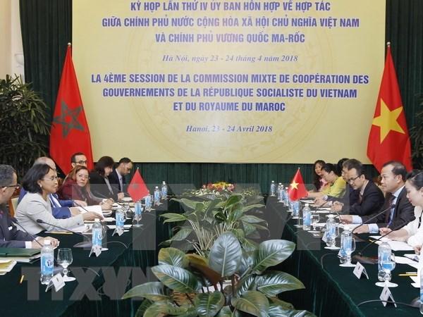 Vietnam y Marrueco intensifican cooperacion multifacetica hinh anh 1