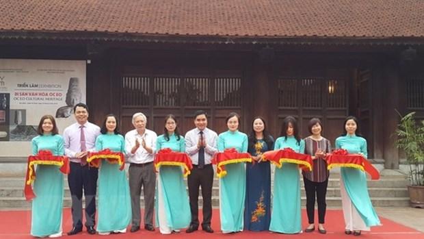 En Hanoi exhibicion sobre la civilizacion de Oc Eo hinh anh 1