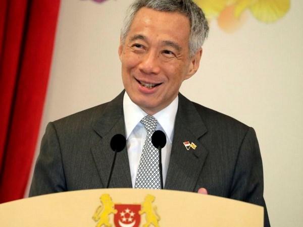Primer ministro de Singapur anuncia reorganizacion del Gabinete hinh anh 1