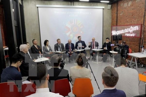 Expertos analizan cooperacion entre Rusia y ASEAN hinh anh 1