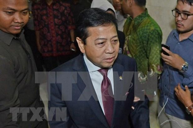 Indonesia: expresidente del parlamento encarcelado durante 15 anos por corrupcion hinh anh 1