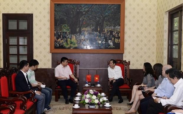 Vietnam y China por intensificar cooperacion entre medios de prensa hinh anh 1