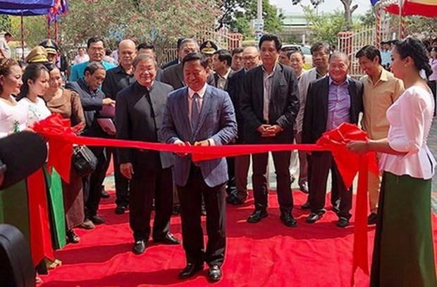 Inauguran en Camboya estacion de radio financiada por Vietnam hinh anh 1